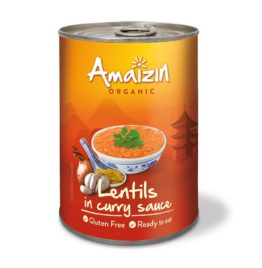 Lentilles Sauce Curry Bio (glutenfree)